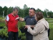Делегация питомниководов из Бельгии посетила «Красный клен»