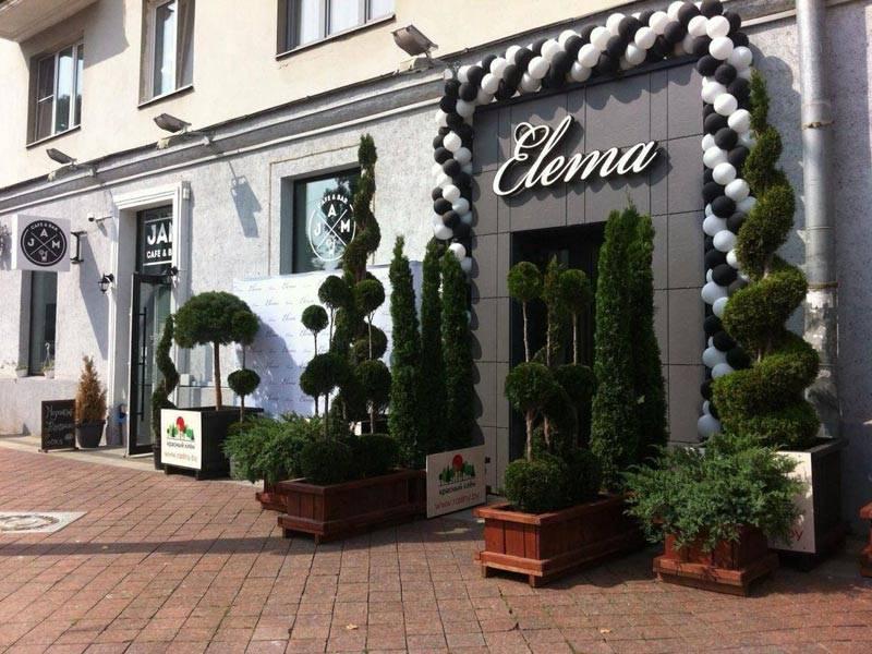 Открытие фирменного магазина Элема 3