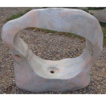 Фонтан (арка) из мрамора Pinky Lucido