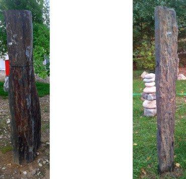 Столб из сланца Black Pillar